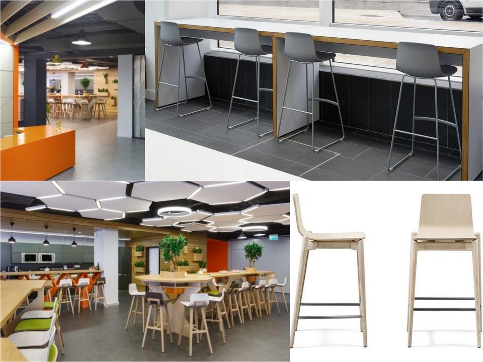 Odnoklessiniki offices canteen Spaceist blogpost