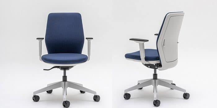 Office chairs white back