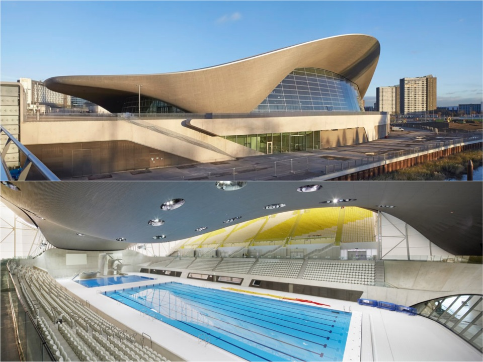 Olympic  Aquatics Centre Sterling Prize