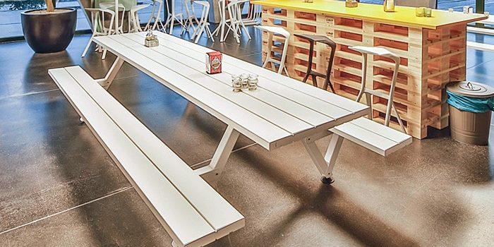 Outdoor Canteen Tables