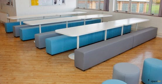 long canteen tables