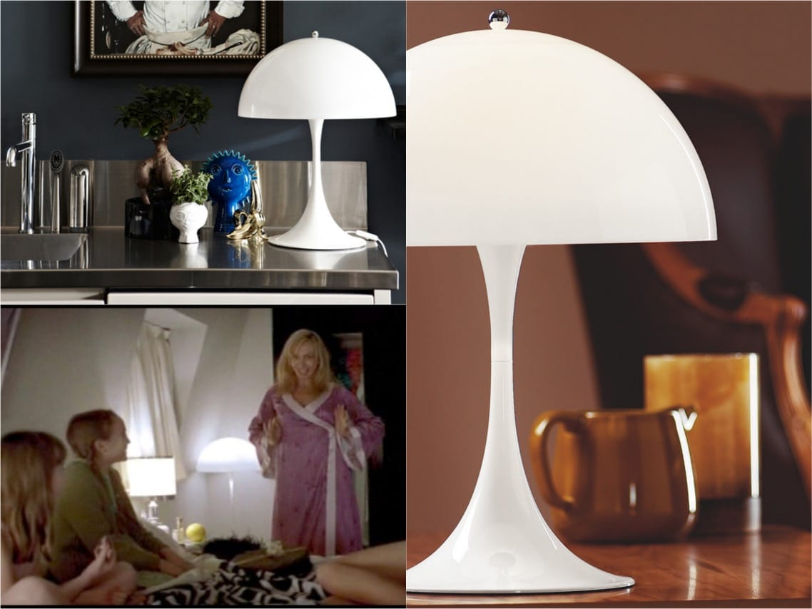 Panthella table lamp Me without you movie spaceist blogpost