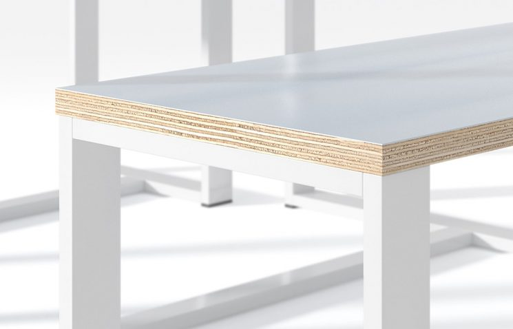 Plywood Canteen Table