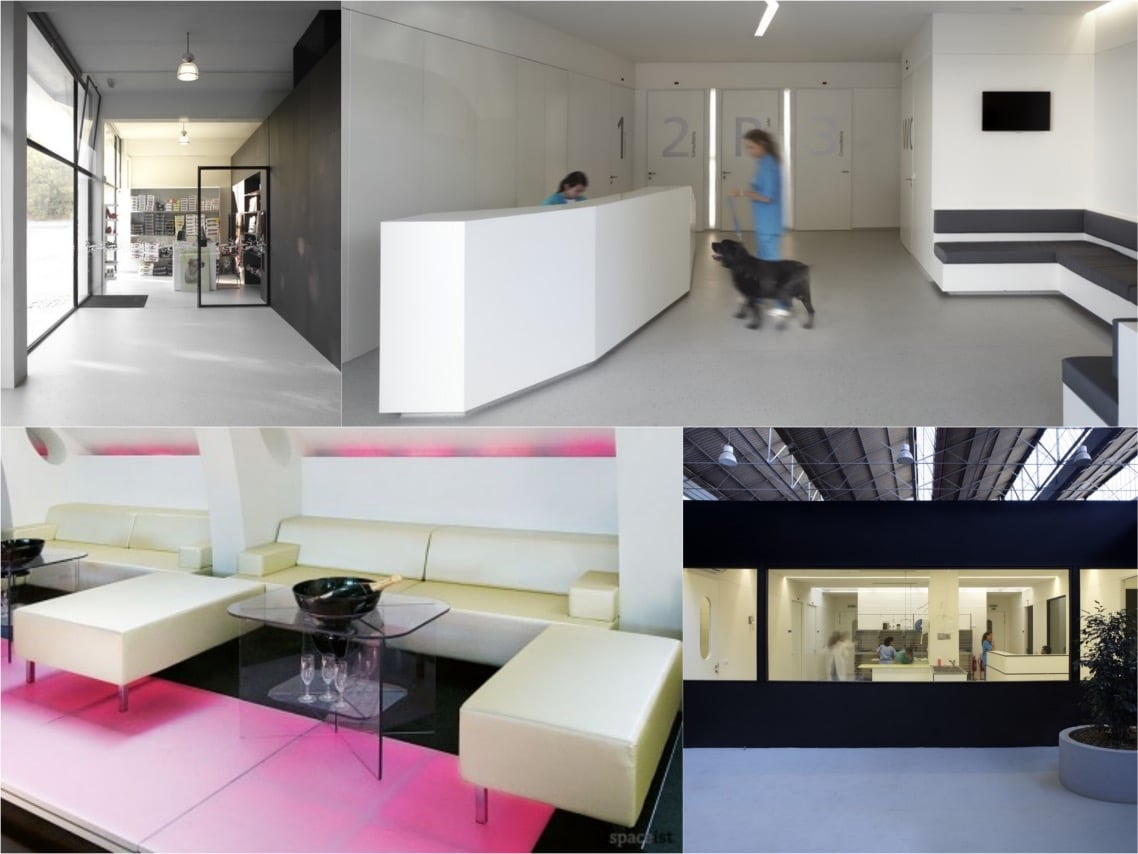 Portuguese veterinary hospital modular booth spaceist blogpost