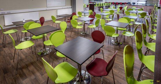 hard wearing cafeteria furniture