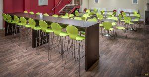 high long canteen table