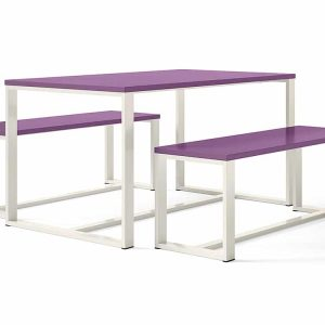 Purple Canteen Table