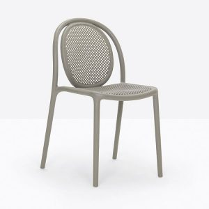 Recycled Cafe Chair Grey