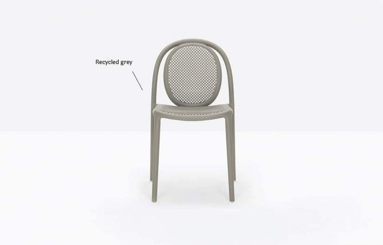 100% Recycled Plastic Chair