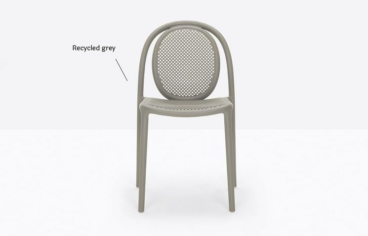 Recycled Cafe Chair Stacking