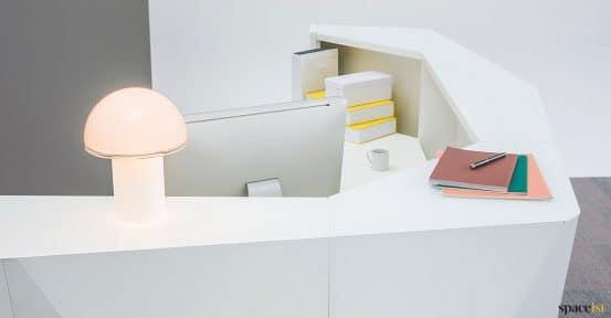 Alps reception desk detail