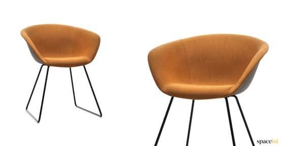 Duna tan chair