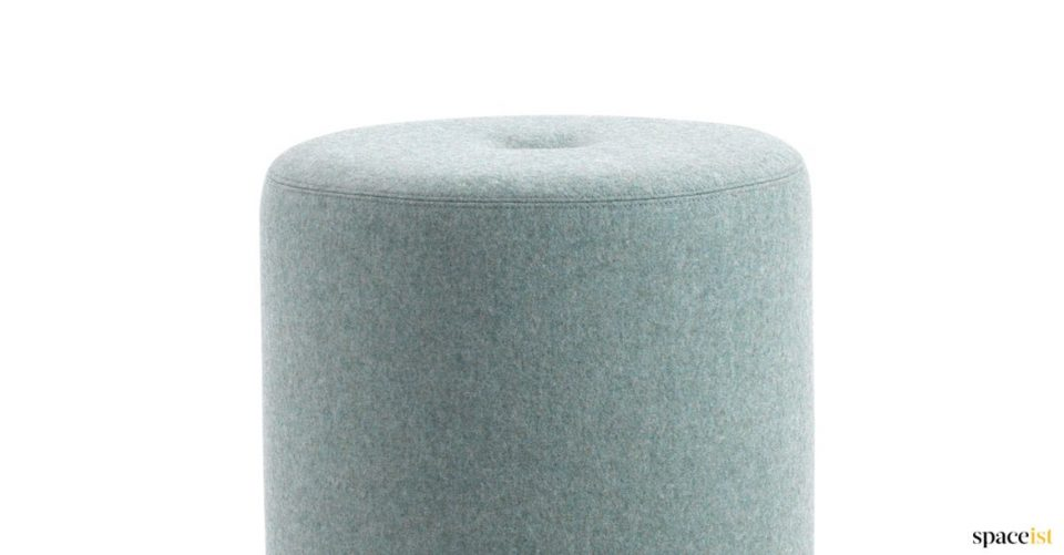 Round stool with button