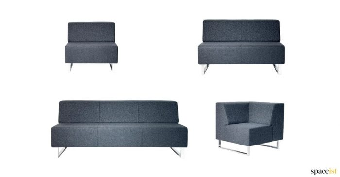 Modular sofa sizes