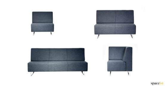 Sofa with no arm