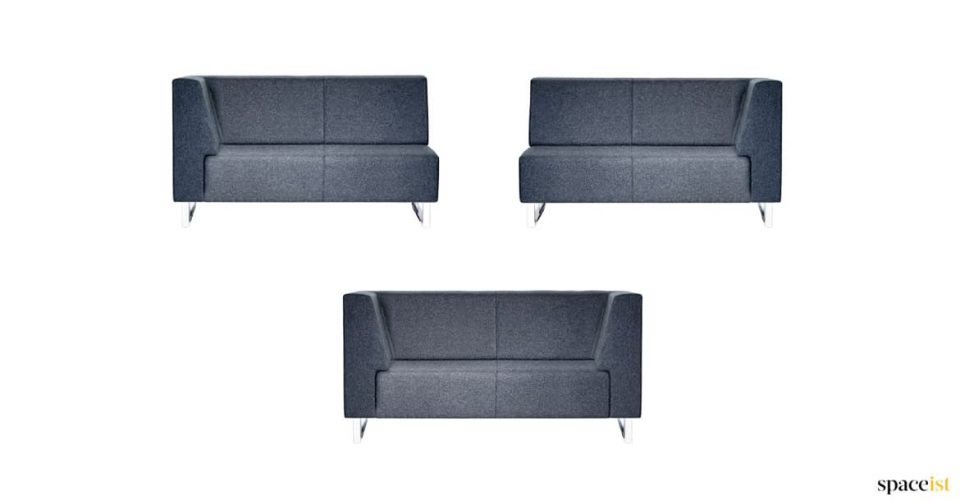 High back sofa for small spaces