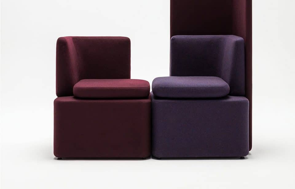 School Modular Seating with High Back