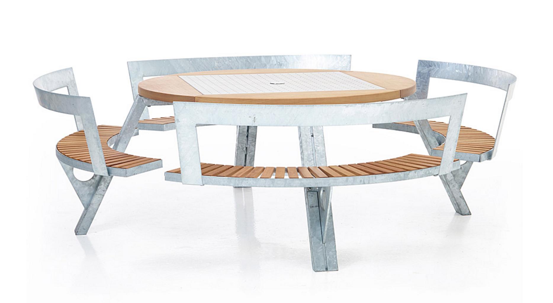 Spaceist Gargantua picnic table