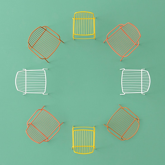 Should I choose a classic wooden or funky metal cafe chair?
