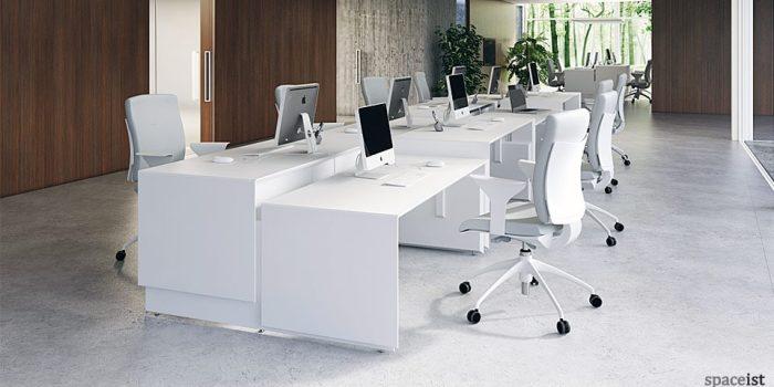 spaceist 45 white height adjustable desks2web