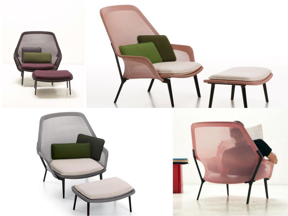 Slow chair by Ronan  Erwan Bouroullec