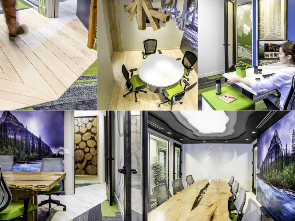 s.Grouse River Small office design spaceist