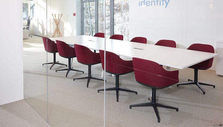 Soft Shell Meeting Chair