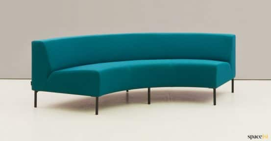 curved corner sofa seat