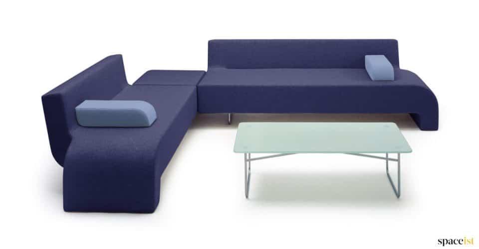 18 pruple office sofa