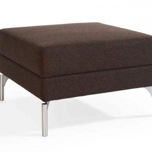 34 brown office reception stool