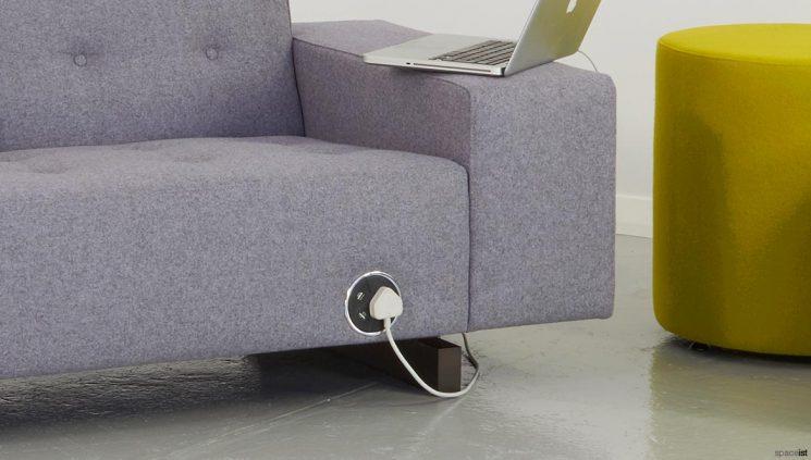 Power socket sofa