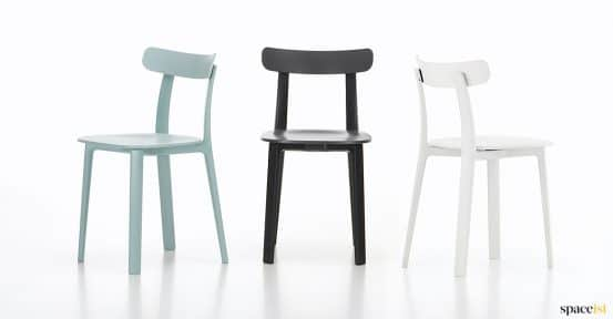 All cafe chair in black