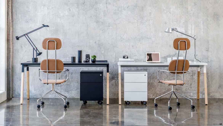 Pleasing Alpha Black Ash Desk 1 Person Spaceist Furniture Evergreenethics Interior Chair Design Evergreenethicsorg
