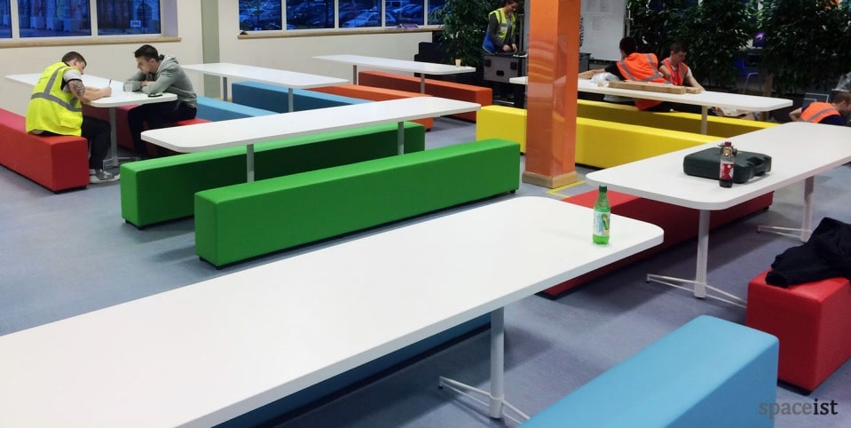 Spaceist Amazon staff canteen furniture 1