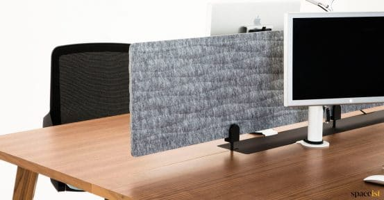 Grey fabric wavy screen
