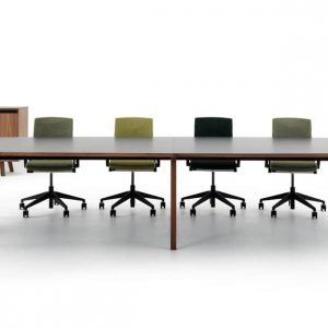 Walnut meeting room table