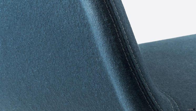 Reception chair arm closeup
