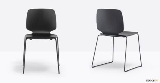 Black babila chair