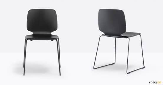 Black babila chair
