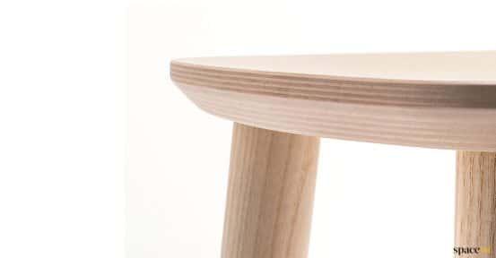 Babila low cafe stool closeup