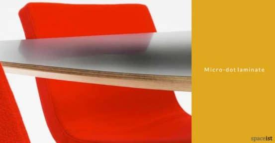 Bond meeting table micro-dot laminate