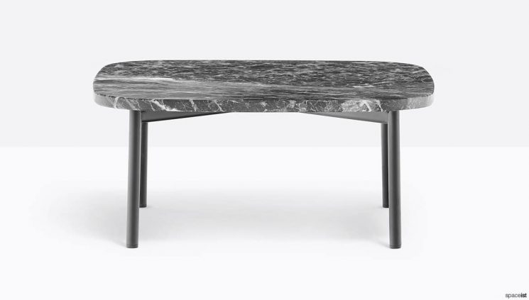 Black Marble Reception Table