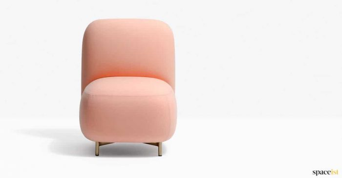 Pink bubble chair