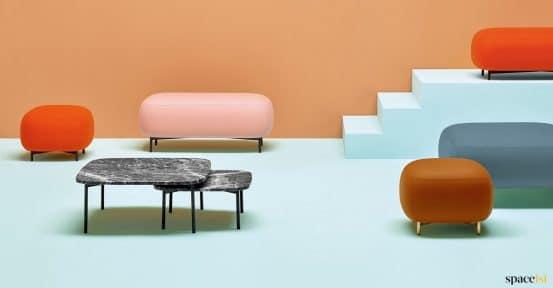Bubble stool colours