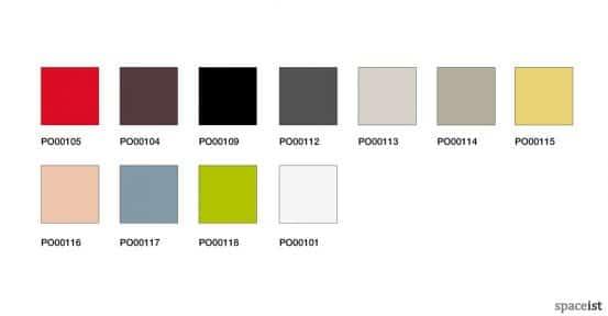 Catifa46 meeting chair colour range