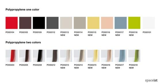 Catifa46 meeting chair pastel colour range