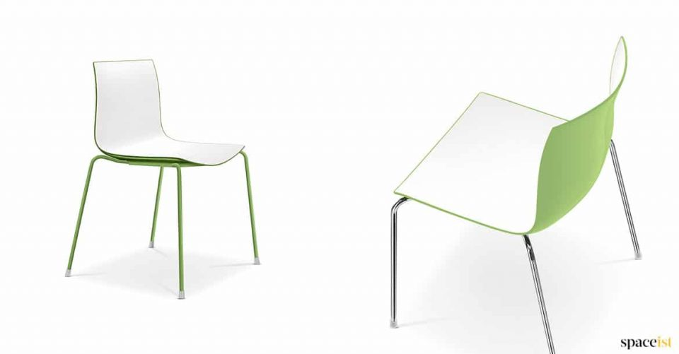Green catifa cafe chair