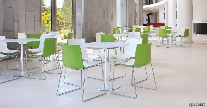 Catifa46 lime green designer cafe chair