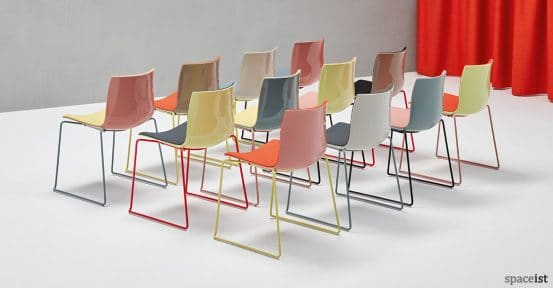 Catifa46 multi-coloured meeting + conference chair