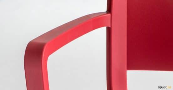 plastic arm closeup
